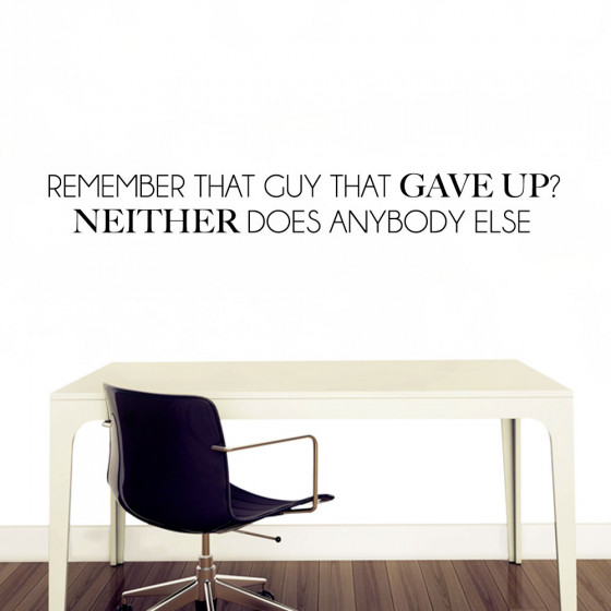 Remember that guy? wallsticker