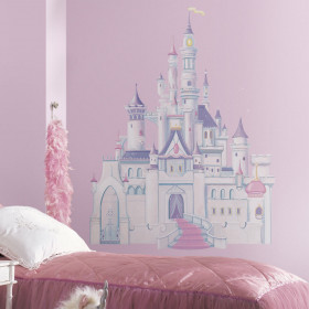 Disney Prinsesse slot wallsticker