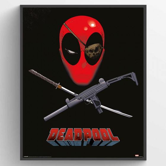 Deadpool - Eye Patch Plakat wallsticker