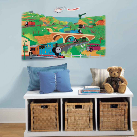 Thomas Tog & venner wallsticker