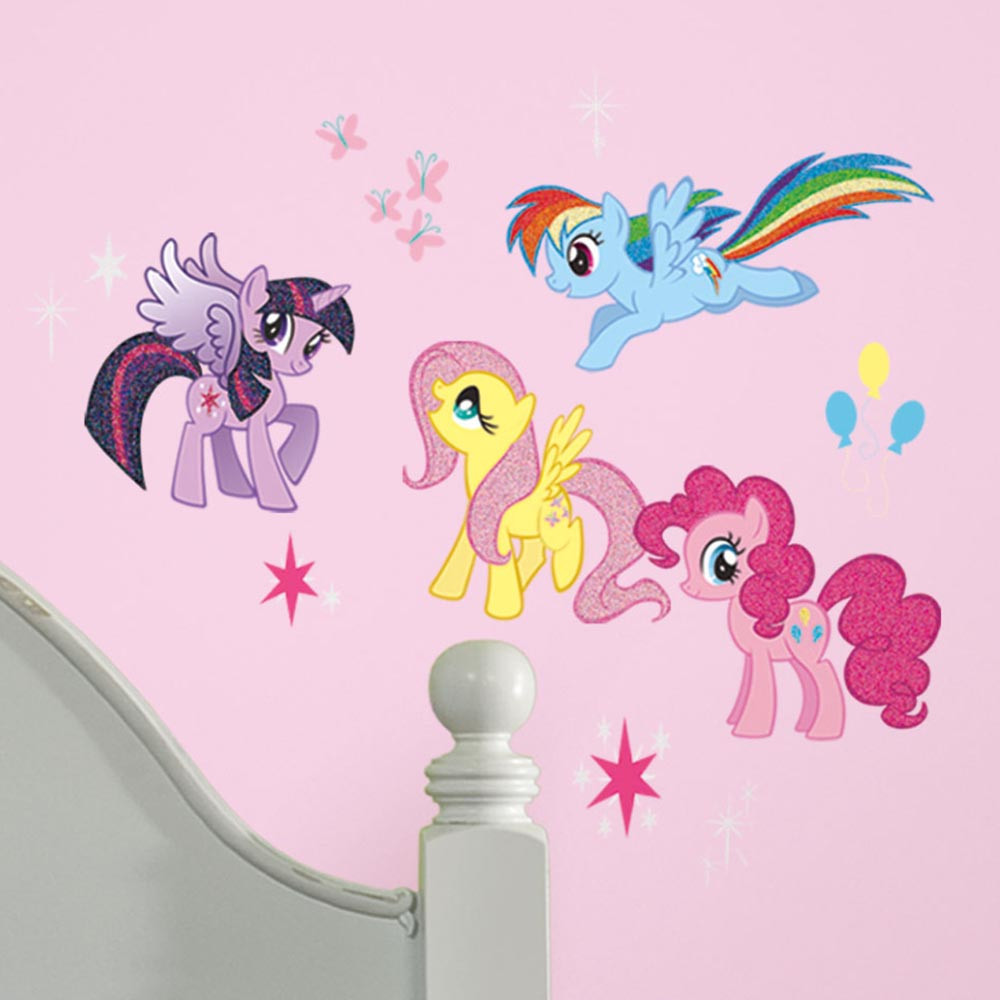 My Little Pony - pakke #3 wallsticker