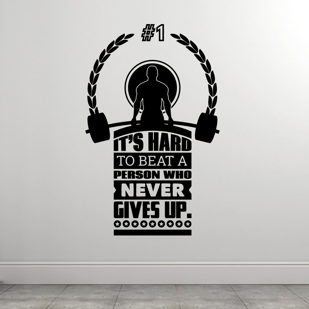 Unbeatable wallsticker