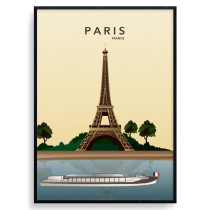 Paris Eiffel Tower Plakat