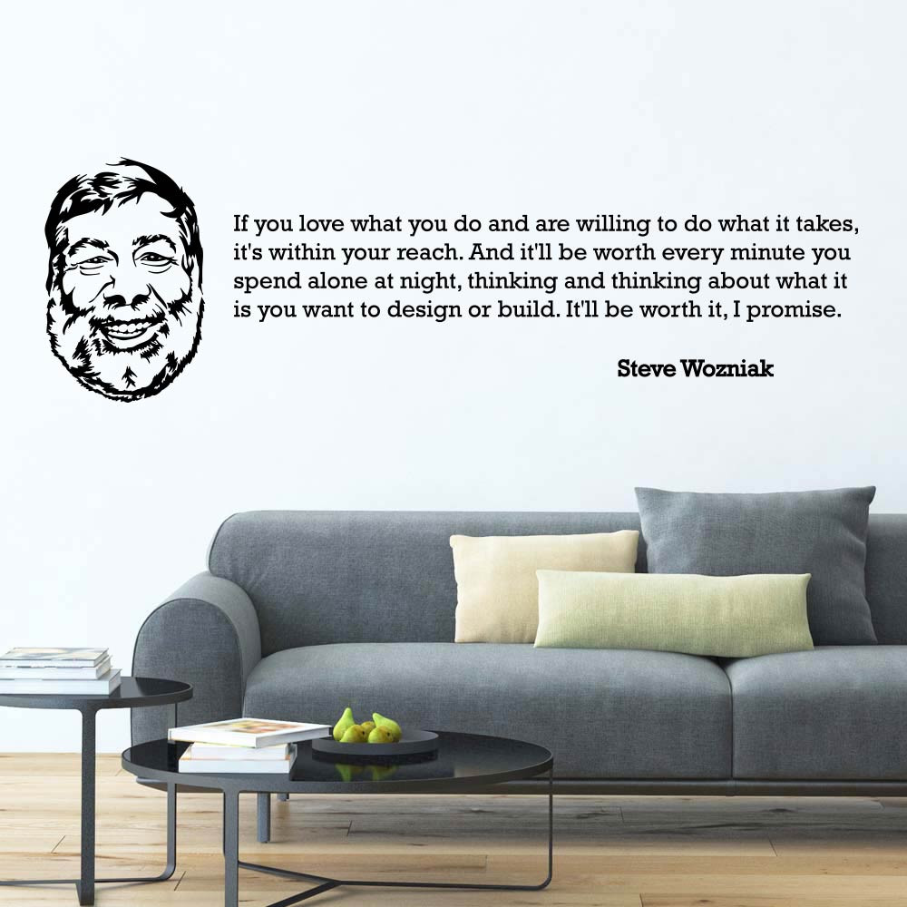 Steve Wozniak wallsticker