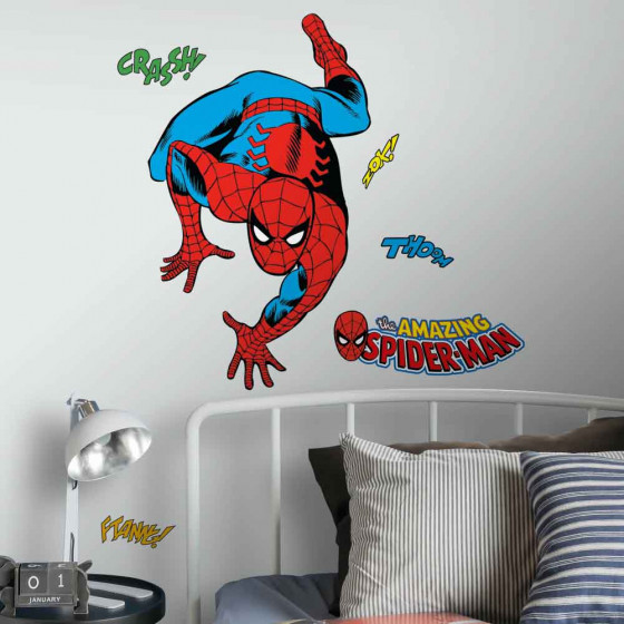 Classic Spiderman wallsticker