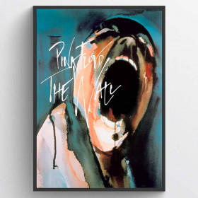Pink Floyd - The Wall Plakat wallsticker