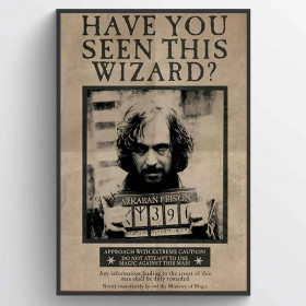Harry Potter (Wanted Sirius Black) Plakat wallsticker