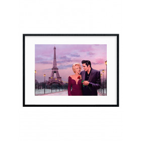 Paris Sunset (Chris Consani) Plakat wallsticker