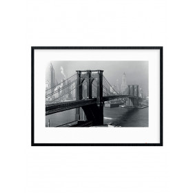 Time Life (Brooklyn Bridge, New York 1946) Plakat wallsticker