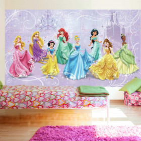 Disney prinsesser - XL wallsticker