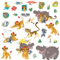 The Lion King - pakke #2 wallsticker
