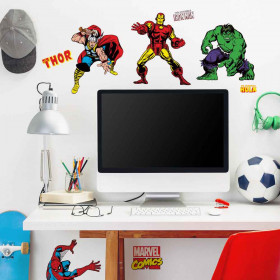 Marvel classic - pakke wallsticker
