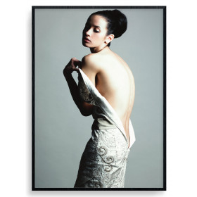 Vulnerable Posing Plakat wallsticker