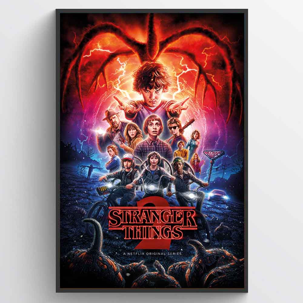 Stranger Things (One-Sheet Season 2) Plakat wallsticker