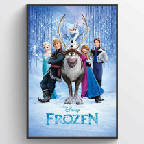Frozen (Cast) Plakat