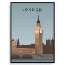London - Big Ben plakat