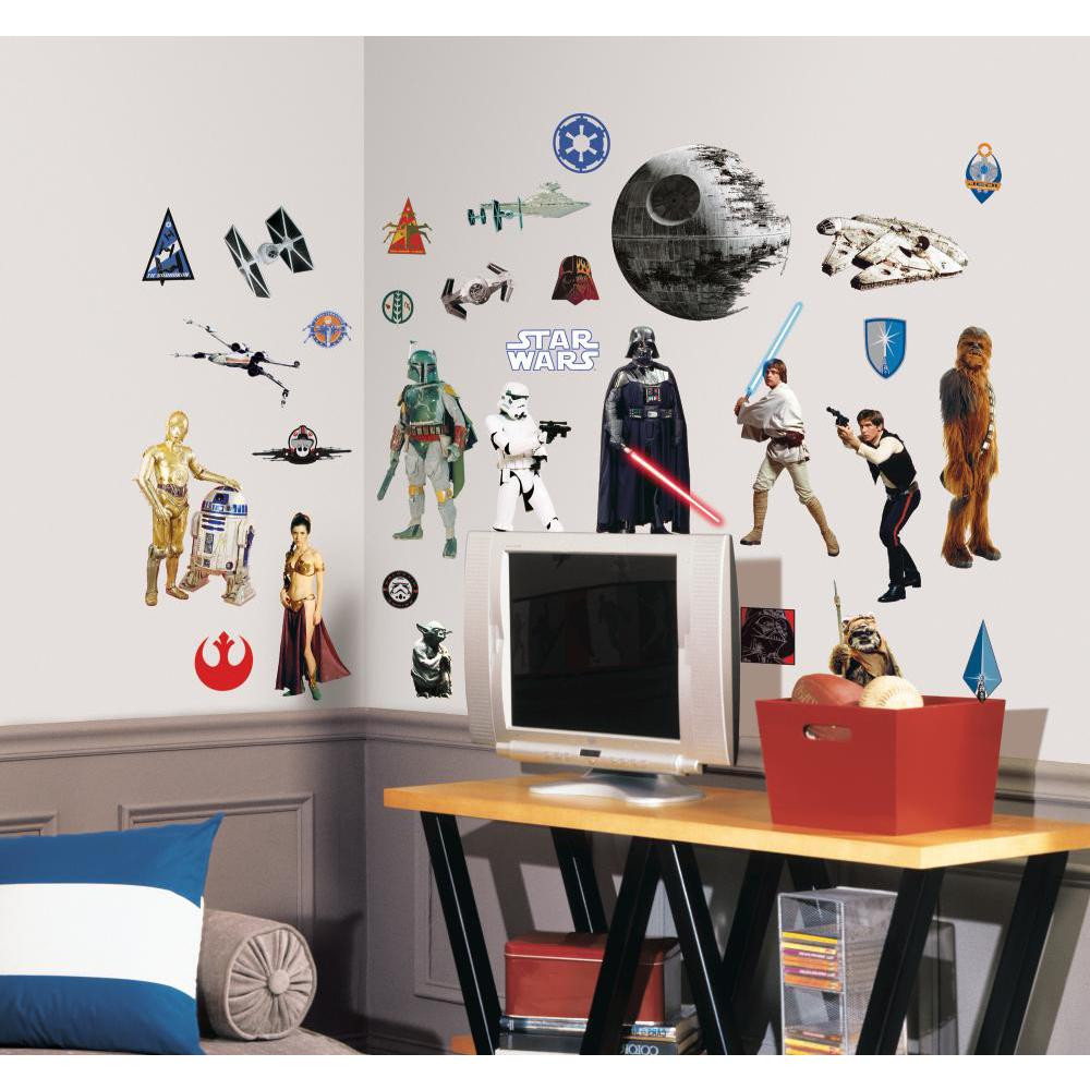 Star Wars - pakke (Klassisk) wallsticker