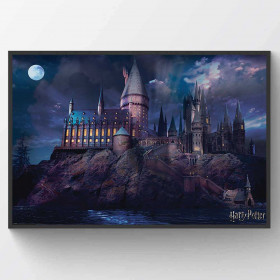 Harry Potter - Hogwarts Plakat wallsticker