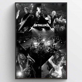 Metallica (Live) Plakat wallsticker