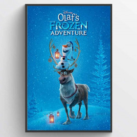 Olaf's Frozen Adventure One Sheet Plakat wallsticker