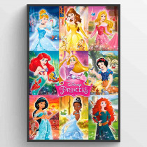 Disney Fairies Collage Plakat