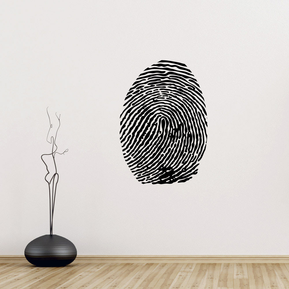 Fingeraftryk wallsticker