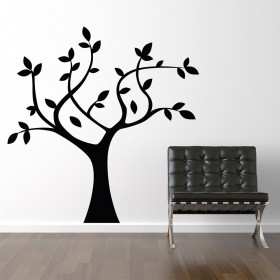 Wallsticker træ wallsticker