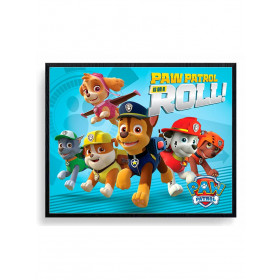 Paw Patrol (On A Roll) Plakat wallsticker