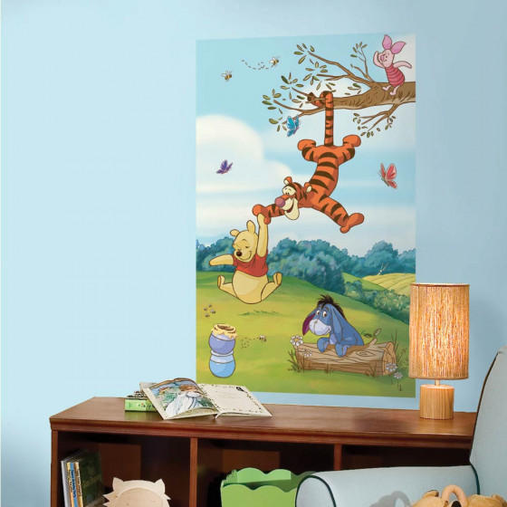 Peter Plys - XL wallsticker