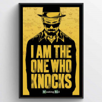 Breaking Bad (I Am the One Who Knocks) Plakat