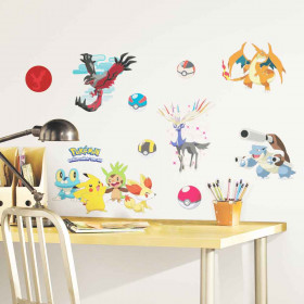 Pokemon - Pakke #2 wallsticker