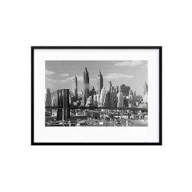 Time Life (Lower Manhattan Skyline 1948) Plakat wallsticker