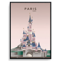 Paris Disneyland Plakat