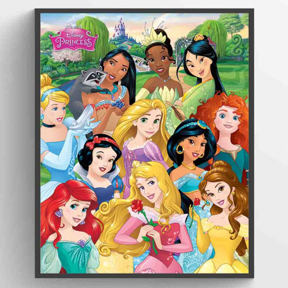 Disney Princess - I am The Princess Plakat wallsticker