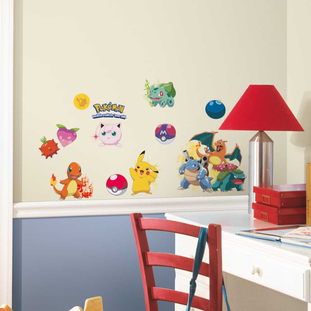 Pokemon - Pakke #1 wallsticker
