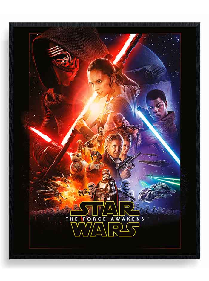 Star Wars Episode VII (One Sheet) Plakat wallsticker