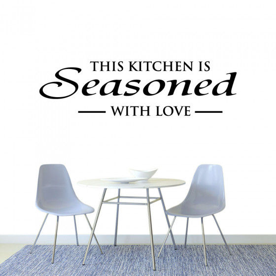 This kitchen wallsticker