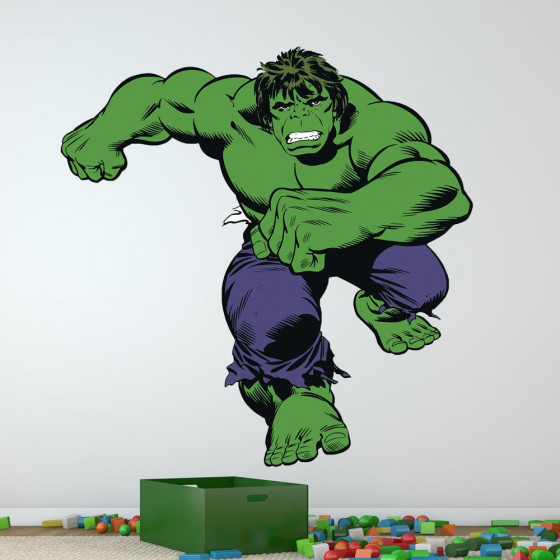 Hulk wallsticker