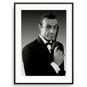 James Bond (Connery Tuxedo) Plakat wallsticker