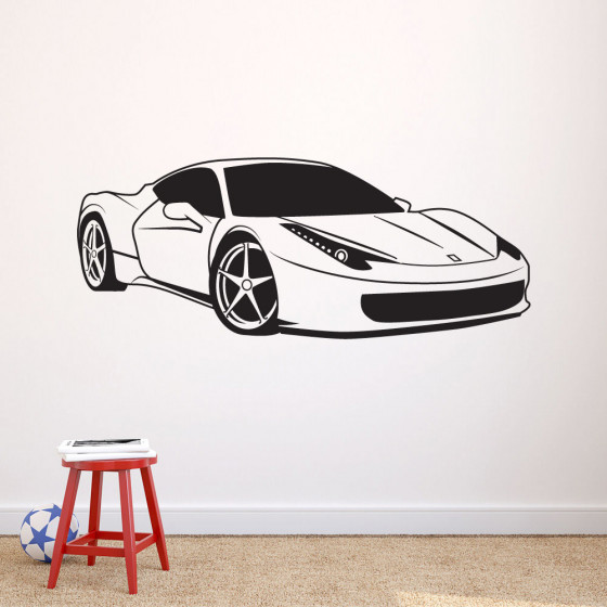 Ferrari 458 wallsticker