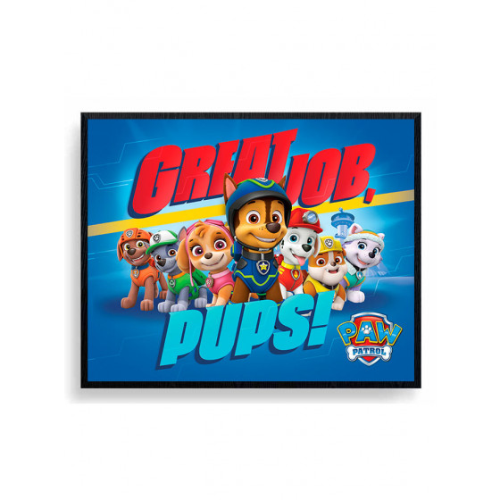 Paw Patrol - Great Job, Pups! Plakat wallsticker