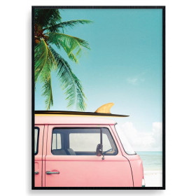 Surfing Days Plakat wallsticker