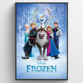 Frozen (Cast) Plakat wallsticker