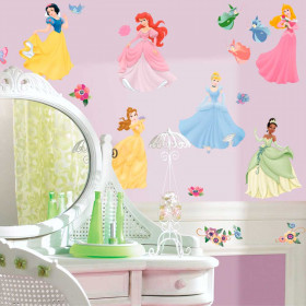 Disney Princess - Pakke #2 wallsticker