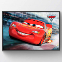 Cars 3 - Lightning McQueen Race Plakat