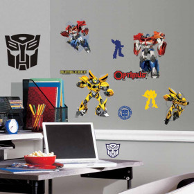 Transformers - pakke wallsticker