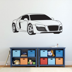 Audi R8 wallsticker