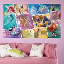 Disney Princess collage - XL